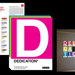 Gallery Dedication Brochure Installation | Tim Waterfill