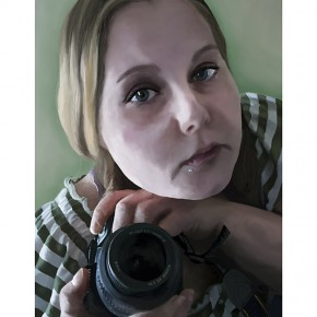 Best of Jury | Lindsay Flint | VISC 213 Advanced Electronic Imaging | Self-Portrait (Digital Painting)