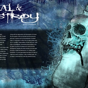 Best of Jury | Danny Schellenberger | VISC 217 Graphic Design II | megaZINE 2-page Spread
