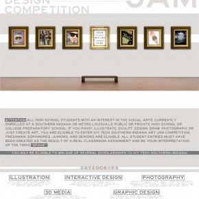 Best of Jury | Gary Tunnell | VISC 217 Graphic Design II | Art Jam Poster