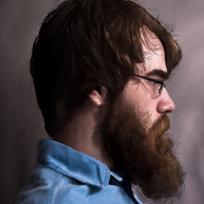 Wes Cusick | Self Portrait | Advanced Electronic Imaging | Todd Flatt, Instructor