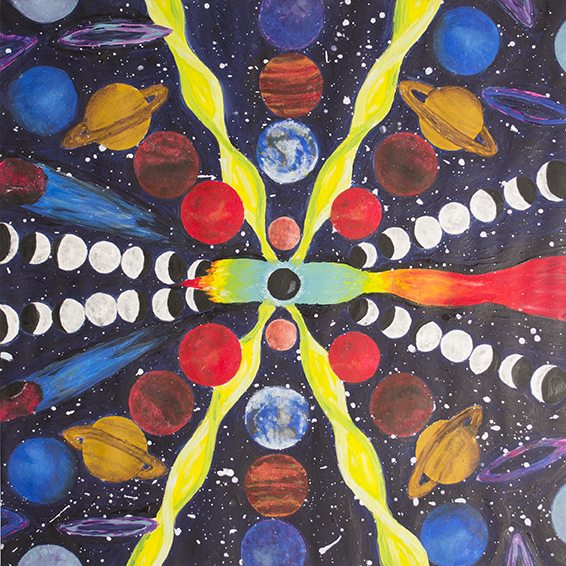 Honorable Mention | Emily Henderson | Eye of the Universe