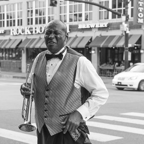 Patti Hartog  | Street Photography (Trumpet)  | PHOT 214 Journalistic & Editorial Photo  | Instructor: Melissa Dettlinger  | Best of Jury
