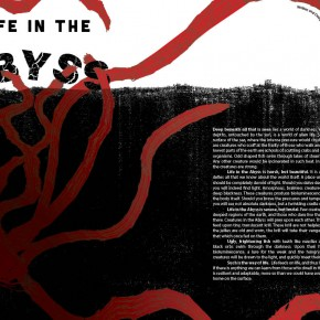Ian McCulloch  | megaZINE 2-page Spread  | VISC 217 Graphic Design II  | Instructor: Susan Mackowiak  | Honorable Mention