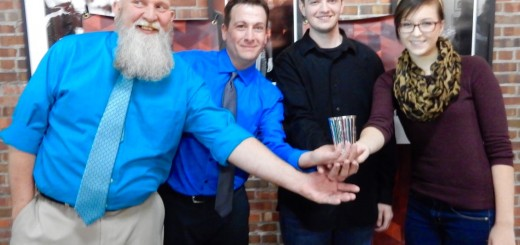 (left to right) John Bailey, Brian Bell, Kevin Mosier, and Lindsay Fulda