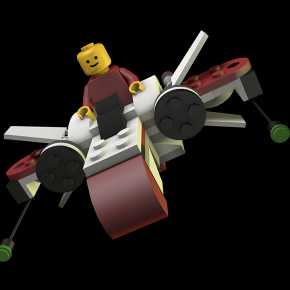 Honorable Mention | Louis Herlihy | Lego Animation Project
