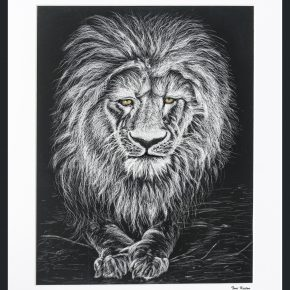 Best of Jury | Toni	Keeton | VISC 111 Drawing For Visualization | Lion of Judah Drawing