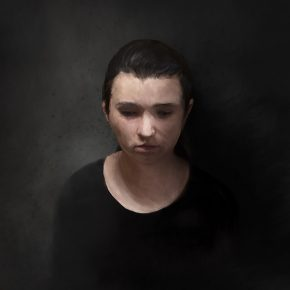 Judges Choice: Technical, Best of Jury | Charity Carkuff | VISC 201 Electronic Imaging | Digital Painting (Portrait)