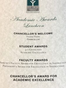 Academic Award's Luncheon Program