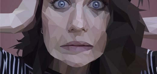 Judges Choice Technical and Best of Jury | Marissa Pieper | VISC 216 Electronic Illustration | Low Poly Portrait