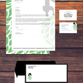 Honorable Mention | Marissa Pieper | VISC 114 Graphic Design I | Tea Stationery