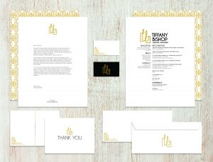 Best of Jury | Tiffany Bishop | VISC 209 Portfolio | Resumé and Stationery