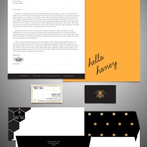 Honorable Mention | Krista Estep | VISC 114 Graphic Design I | Tea Stationery